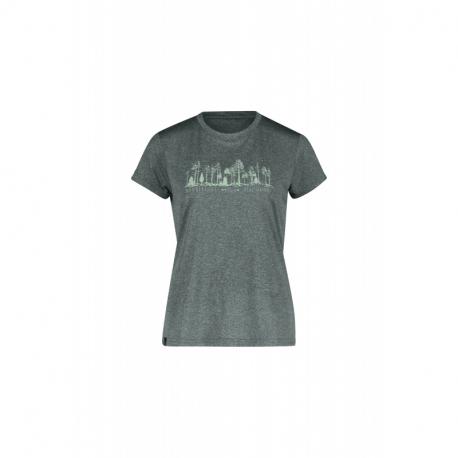 Dámské turistické tričko s krátkým rukávem FIVE SEASONS-DIXIE TOP W-TURBULENCE MELANGE