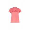 Dámske turistické tričko s krátkym rukávom FIVE SEASONS-DIXIE TOP W-PARADISE PINK MELANGE -
