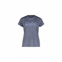 Dámske turistické tričko s krátkym rukávom FIVE SEASONS-DIXIE TOP W-ENSIGN BLUE MELANGE