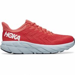 Dámska bežecká obuv HOKA ONE ONE-Clifton 7 hot coral/white