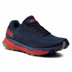 Pánska bežecká trailová obuv HOKA ONE ONE-Torrent 2 moonlit ocean/red