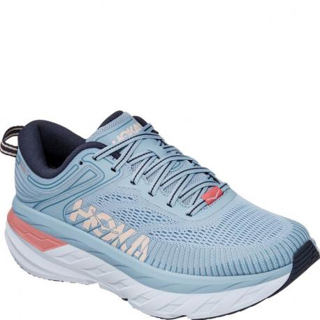 Dámska bežecká obuv HOKA ONE ONE-Bondi 7 blue fog/ombre blue