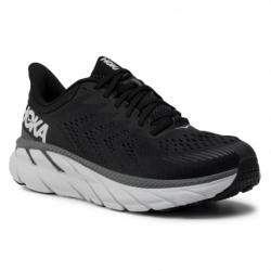 Pánska bežecká obuv HOKA ONE ONE-Clifton 7 black/white (EX)