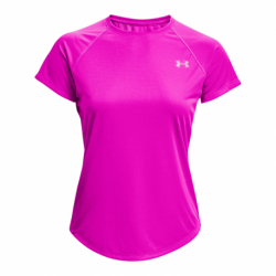 Dámske bežecké tričko s krátkym rukávom UNDER ARMOUR-UA Speed Stride Short Sleeve-PNK
