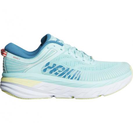 Dámská běžecká obuv HOKA ONE ONE-Bondi 7 blue tint / mosaic blue