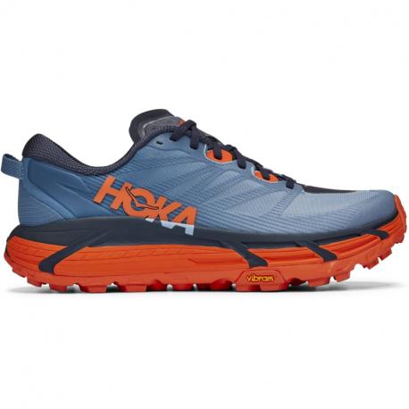 Pánska bežecká trailová obuv HOKA ONE ONE-Mafate Speed 3 provincial blue/carrot (EX)