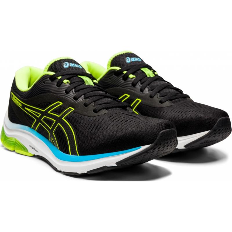 Pánska bežecká obuv ASICS-Gel Pulse 12 black/green/blue -