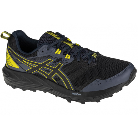 Pánska bežecká trailová obuv ASICS-Gel Sonoma 6 graphite grey/sour yuzu (EX)