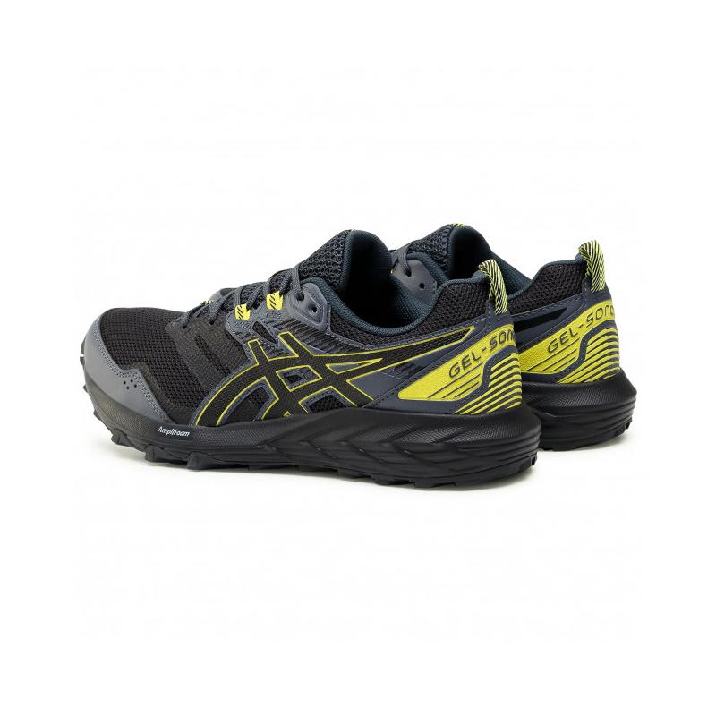 Pánska bežecká trailová obuv ASICS-Gel Sonoma 6 graphite grey/sour yuzu (EX) -