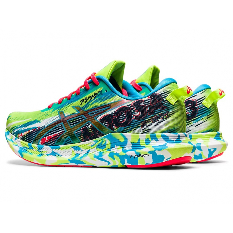 Pánska bežecká obuv ASICS-Noosa Tri 13 green/aqua -