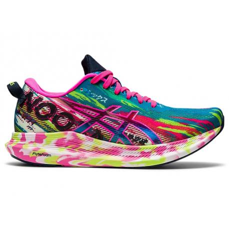 Dámská běžecká obuv ASICS-Noosa Tri 13 digital aqua / hot pink