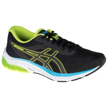 Pánská běžecká obuv ASICS-Gel Pulse 12 black / green / blue (EX)
