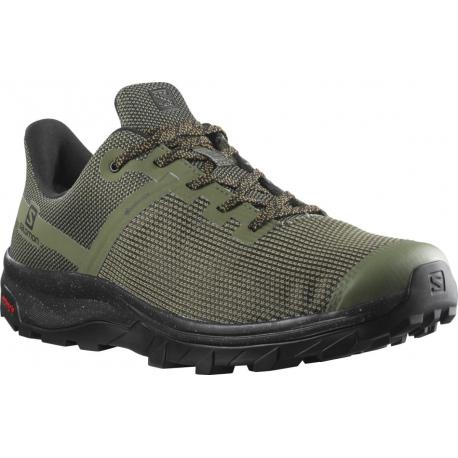 Pánské nízká turistická obuv Salomon-Outline Prism GTX lichen green