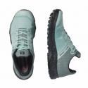 Dámska nízka turistická obuv SALOMON-OUTline Prism W pastel turquoise/black -