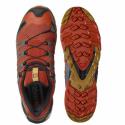 Pánská běžecká trailová obuv Salomon-XA Pro 3D V8 rooibos tea / black / cumin -