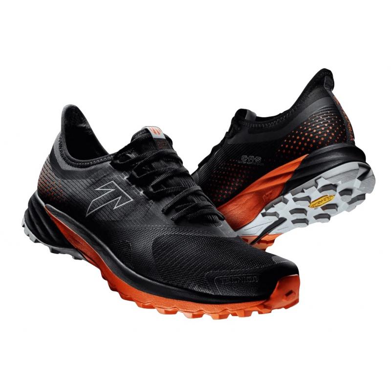 Pánska bežecká trailová obuv TECNICA-Origin LT (75-) Ms black/dusty lava -