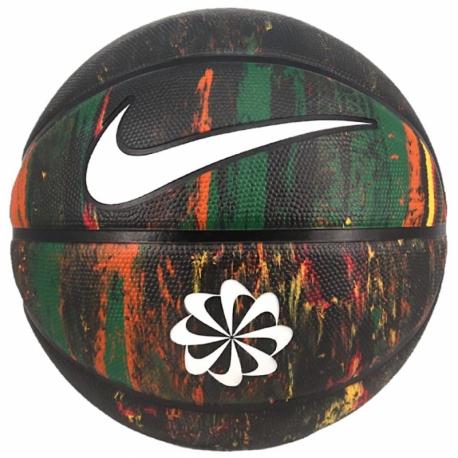 Basketbalový míč NIKE-BSKT REVIVAL 07 MT / WH / BK