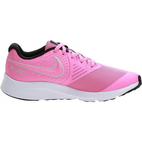 Juniorská rekreační obuv NIKE-Star Runner 2 (GS) pink glow / white / black