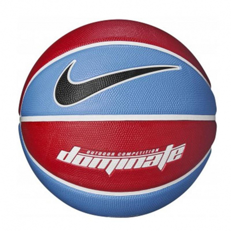 Basketbalová lopta NIKE-DOMINATE 07 UB/WH/WH/BK