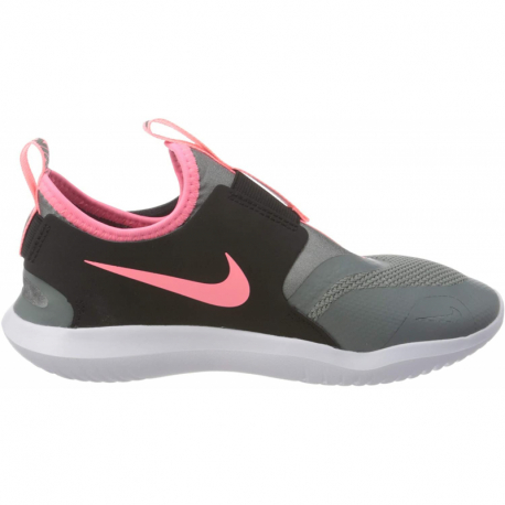 Dětská rekreační obuv NIKE-Flex Runner (PSV) smoke grey / black / white / sunset pulse