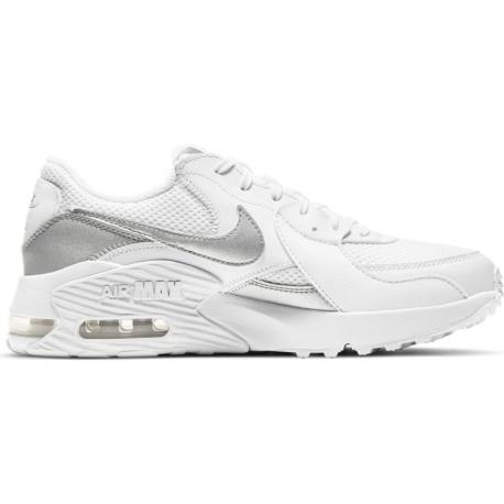 Dámská vycházková obuv NIKE-Air Max exce Summit white / metallic silver