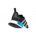 Pánska rekreačná obuv ADIDAS ORIGINALS-NMD_R1 core black/silver metallic/solar red -