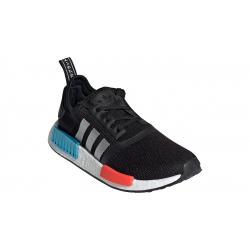 Juniorská rekreačná obuv ADIDAS ORIGINALS-NMD_R1 core JR black/silver metallic/solar red