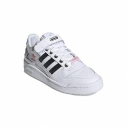 Dámska vychádzková obuv ADIDAS ORIGINALS-Forum Low W I Love Dance cloud white/core black/true pink