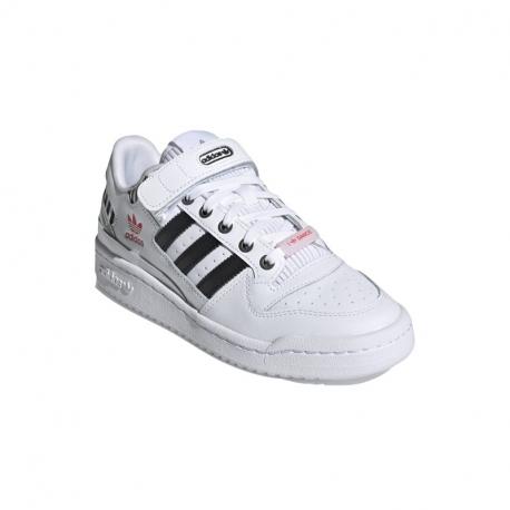 Dámská vycházková obuv ADIDAS ORIGINALS-Forum Low WI Love Dance cloud white / core black / true pink