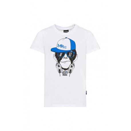 Chlapecké tričko s krátkým rukávem SAM73-DEXTER-000-White