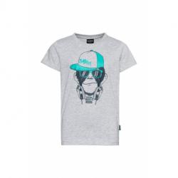 Chlapčenské tričko s krátkym rukávom SAM73-DEXTER-401-Grey