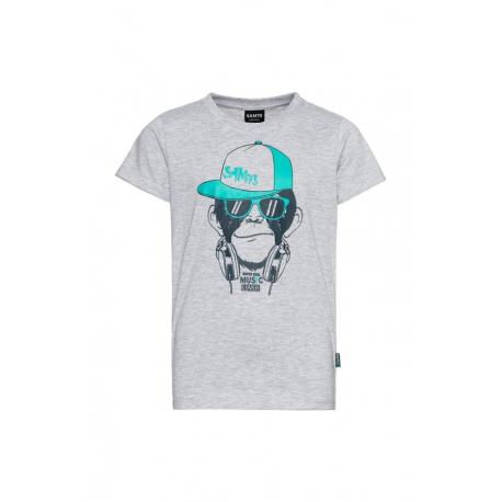 Chlapecké tričko s krátkým rukávem SAM73-DEXTER-401-Grey
