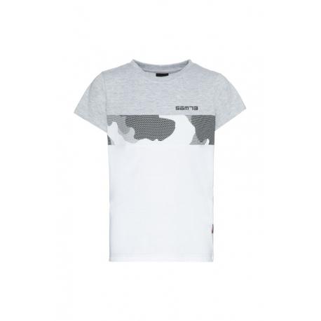 Chlapecké tričko s krátkým rukávem SAM73-JUSTIN-401-Grey