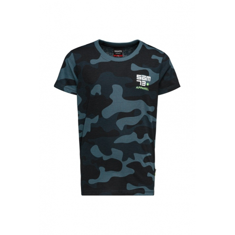 Chlapecké tričko s krátkým rukávem SAM73-RUPERT-240-Blue