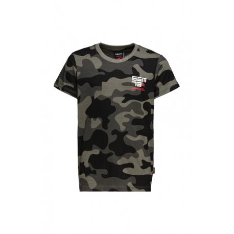 Chlapecké tričko s krátkým rukávem SAM73-RUPERT-500-Black