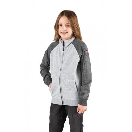 Dívčí mikina se zipem SAM73-ELLEN-401-Grey