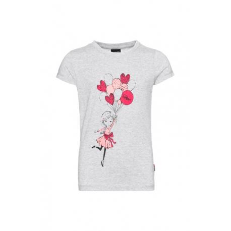 Dívčí tričko s krátkým rukávem SAM73-FIFI-401-Grey