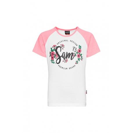 Dívčí tričko s krátkým rukávem SAM73-DENISA-118-Pink