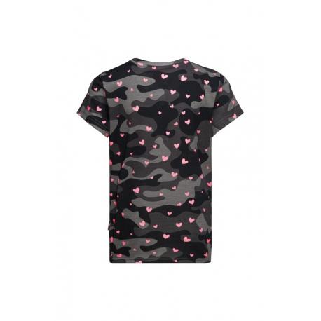 Dívčí tričko s krátkým rukávem SAM73-HEIDI-500-Black