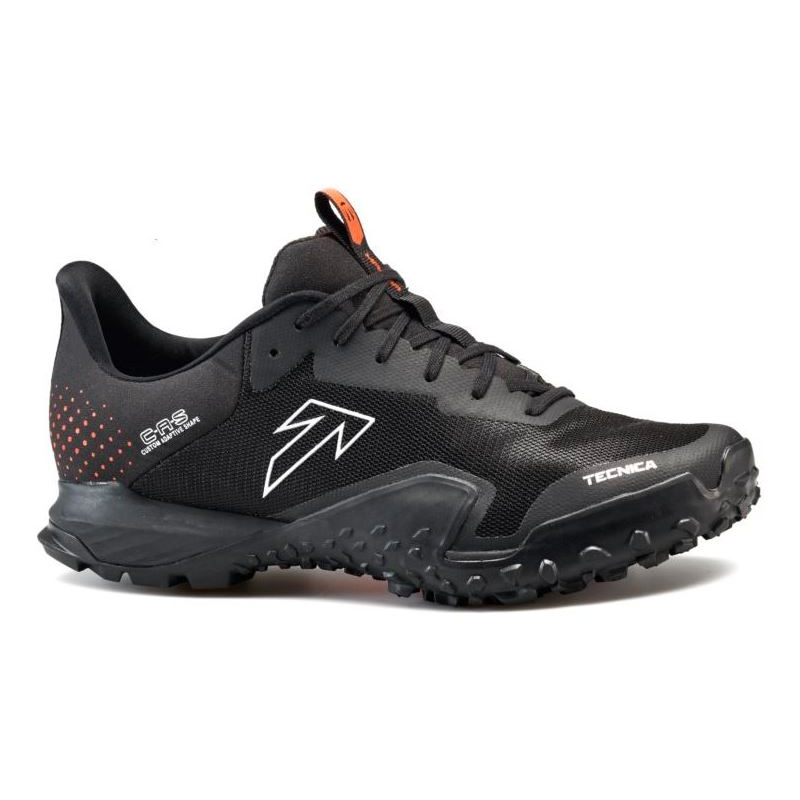 Pánska bežecká trailová obuv TECNICA-Magma S Ms black/dusty lava -