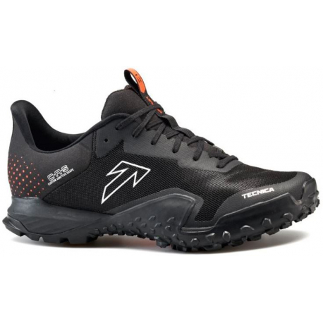 Pánská běžecká trailová obuv TECNICA-Magma S Ms black / dusty lava (EX)