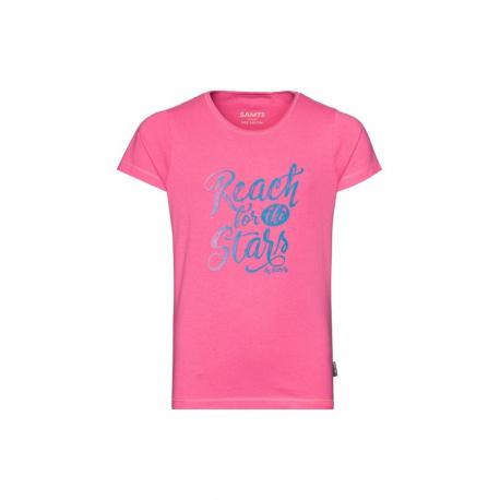 Dívčí tričko s krátkým rukávem SAM73-Bidano-407SM-Pink