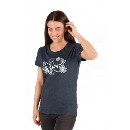 Dámské triko s krátkým rukávem SAM73-NARA-602SM-Blue