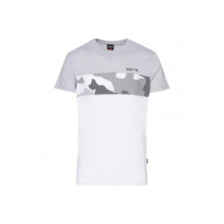 Pánske tričko s krátkym rukávom SAM73-LEWIS-401-Grey