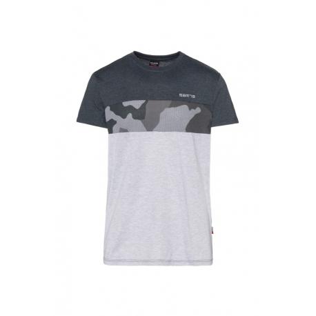 Pánske tričko s krátkym rukávom SAM73-LEWIS-500-Black
