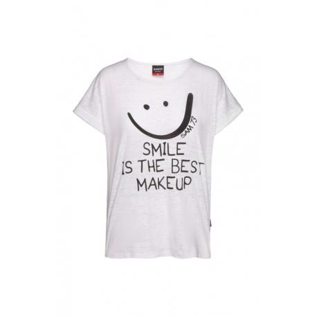 Dámske tričko s krátkym rukávom SAM73-OLIVIA-000-White