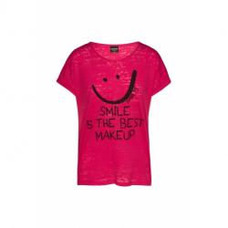 Dámske tričko s krátkym rukávom SAM73-OLIVIA-120-Pink