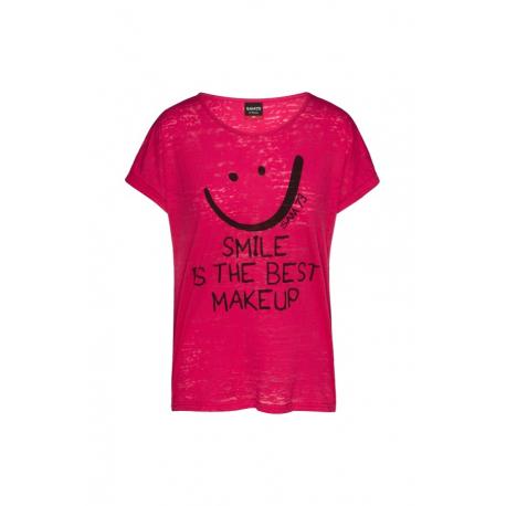 Dámské triko s krátkým rukávem SAM73-OLIVIA-120-Pink