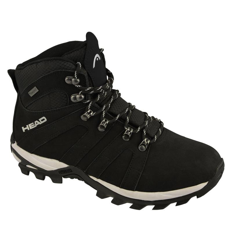 Pánska turistická obuv vysoká HEAD-Rila black -