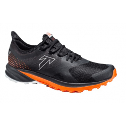 Pánska bežecká trailová obuv TECNICA-Origin XT (75+) Ms black/dusty lava (EX)